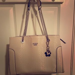 Baby pink guess purse
